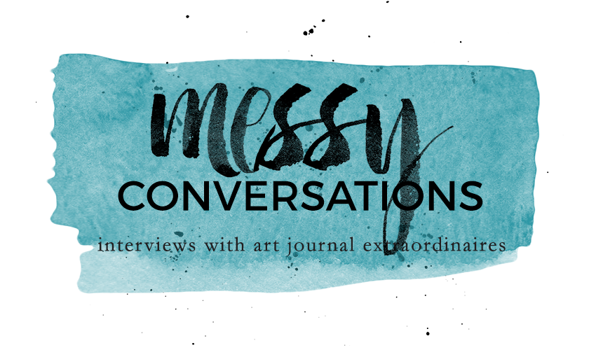 Messy Conversations. Interviews with art jouranal extraordinaires