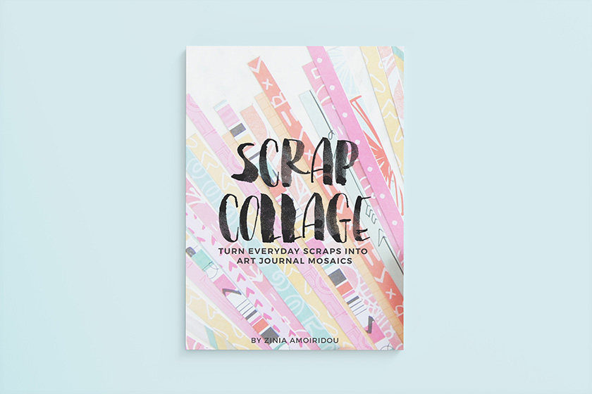 Scrap Collage - Turn everyday scraps into art journal mosaics